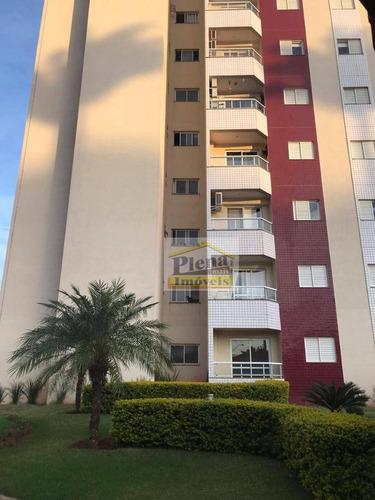 Imagem 1 de 16 de Apartamento Com 3 Dormitórios À Venda, 78 M² - Planalto Do Sol - Sumaré/sp - Ap1211