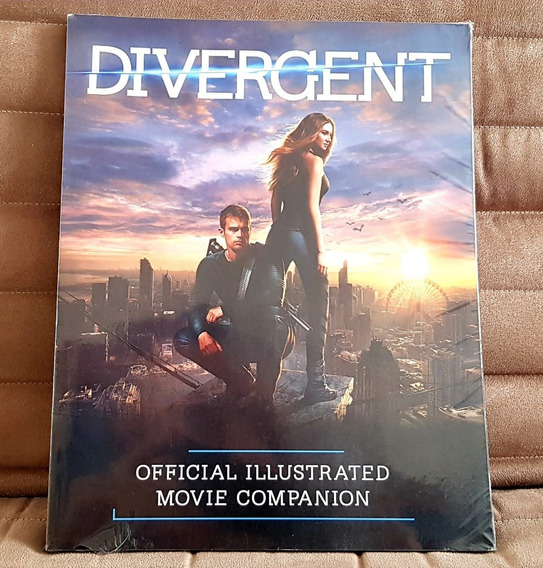 Livro Divergent Official Illustrated Movie Companion Import