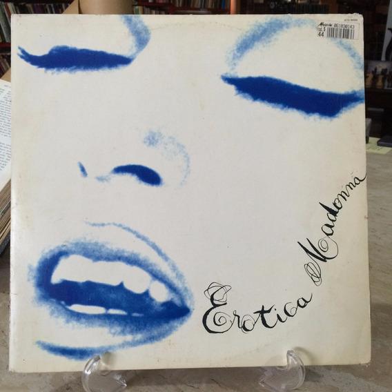 Lp- Madonna - Erotica