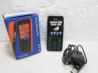 Celular Nokia 208 Dual Sim (teclas Grandes) (mostruario Loja