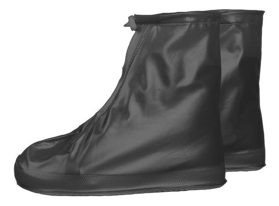 Cubre Zapato O Zapatilla Impermeable Para Lluvia Con Cierre