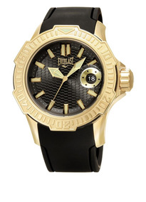 Relógio Everlast Caixa Aço E Pulseira Siliconee576