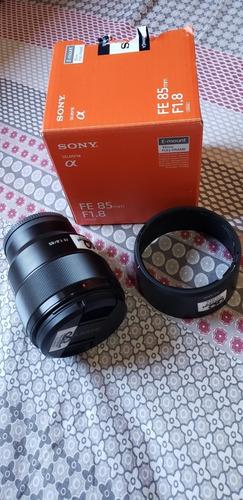 Lente Sony 85mm