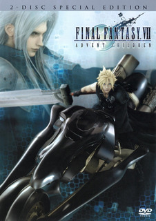 Filme Final Fantasy Vii Advent Children Dvd Americano Duplo
