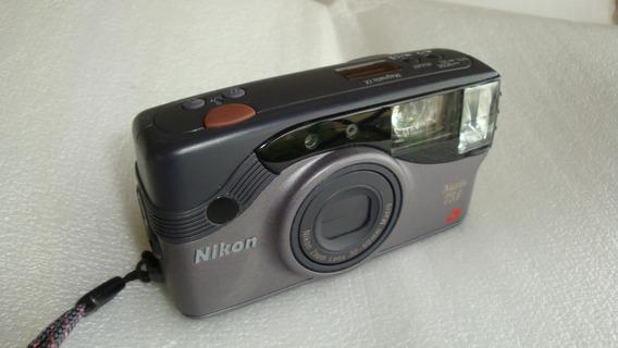 Maquina Fotografica Nuvis 75i Nikon Aps - Usada No Estado