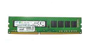 Memoria 8gb P/servidor 2rx8 Pc3-12800e Ddr3 Ecc Samsung