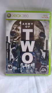 Army Of Two - Nuevo Y Sellado - Xbox 360