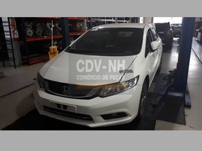 Sucata Civic 2015/16 155cv 2.0 Flex