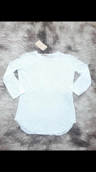 Blusa De Renda Zara