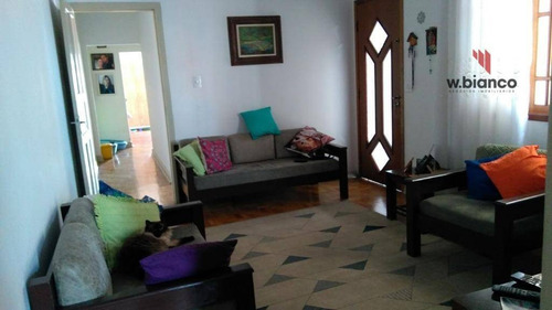 Casa Residencial À Venda, Vila Liviero, São Paulo. - Ca0253