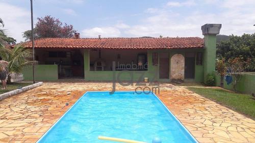 Chácara Com 5 Dormitórios À Venda, 4500 M² Por R$ 600.000,00 - Ponte Alta - Vargem/sp - Ch0545