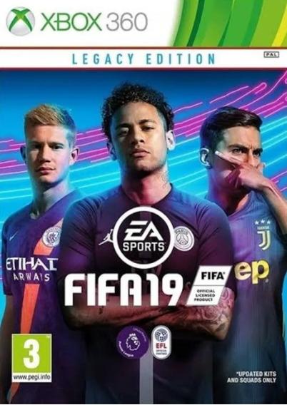 Fifa 19 - Xbox 360 - Mídia Digital - Original
