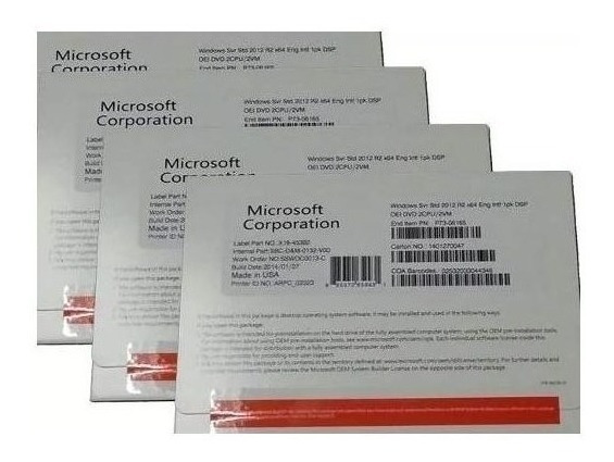 Windows Server 2012 R2 Standard - 64 Bits - Lacrados - C\nfe