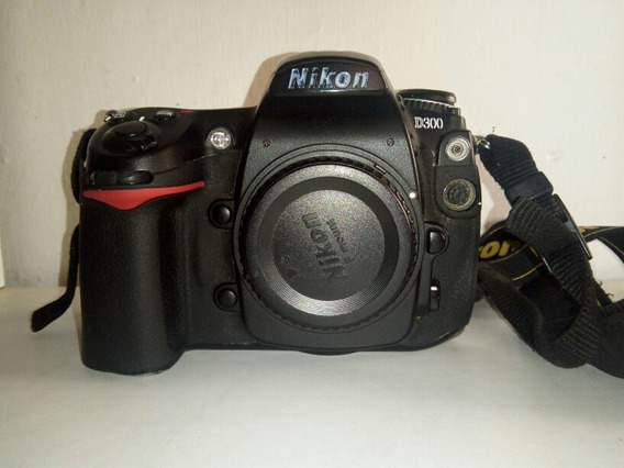 Camara Nikon D300 Usada