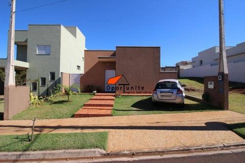 Casa Com 3 Dormitórios À Venda, 128 M² Por R$ 580.000,00 - Condomínio Buona Vita Ribeirão - Ribeirão Preto/sp - Ca0483