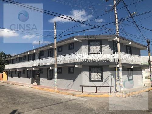 Excelente Edificio Comercial En Venta Con 20 Hab. En Motul Yucatan.