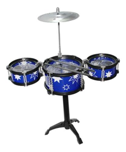 Imagen 1 de 2 de Juguete Mini Instrumentos De Percusión De 3 Tambor De Jazz