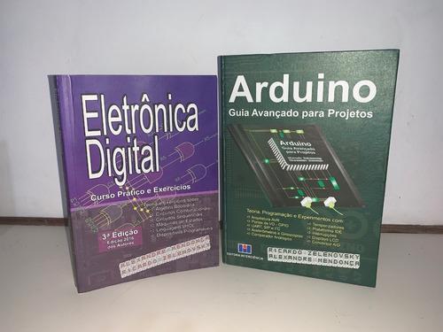 Imagem 1 de 5 de Livros Arduino & Eletrônica Digital 10% Desc. Capa Mole