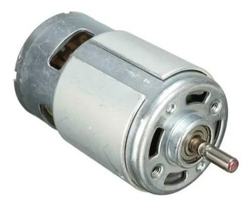 Motor Dc 775 Eje 5mm - Alta Potencia - Cnc 3018