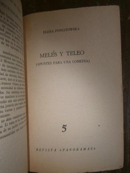 Elena Poniatowska Meles Y Teleo Revista Panoramas 1956