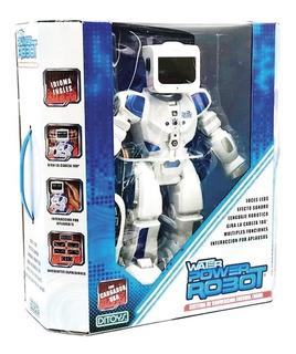 Robot Water Power Inteligente C/ Control Remoto 37cm Ditoys