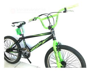 Bicicleta Freestyle Venzo Inferno Negr Y Roj,c/rot En Works
