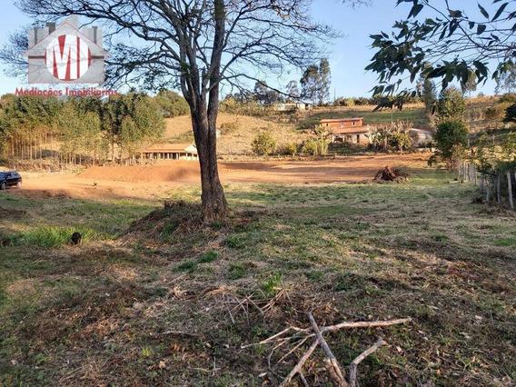 Terreno Rico Em Água Com Riacho Nos Fundos, 4000 M² Por R$ 100.000 - Campestre - Pedra Bela/sp - Te0229