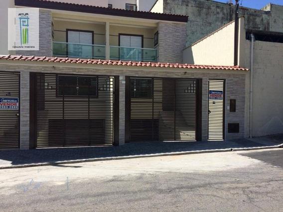 Sobrado Com 3 Dormitórios À Venda, 152 M² Por R$ 750.000 - Vila Gustavo - São Paulo/sp - So0195