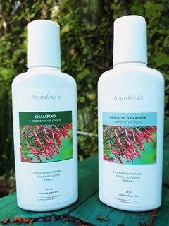Shampoo Y Acondicionador Repelente De Piojos