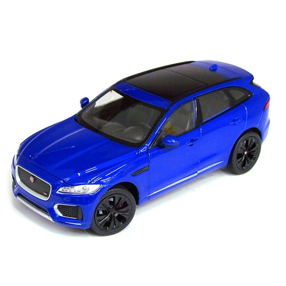 Miniatura Jaguar F-pace Azul Welly 1/24