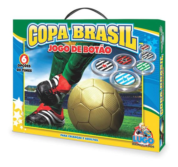 Jogo De Botão Copa Brasil 6 Opções De Times Criança Adulto