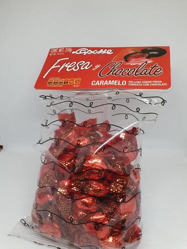 Imagen 1 de 1 de Laposse Fresa Chocolate 350gr
