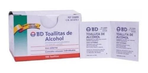 Imagen 1 de 2 de Toallitas Húmedas Con Alcohol - Unidad a $200