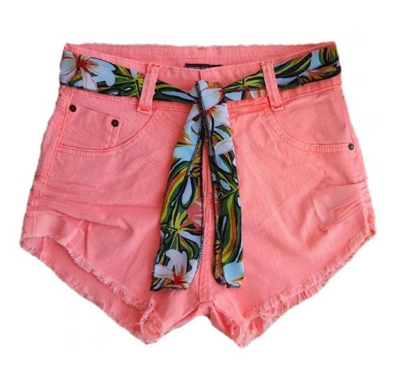 Short Jeans Hot Pants Variados Feminino Curto Moda Sj001