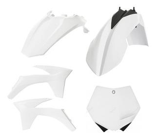 Polisport Complete Plastic Kit Set White KTM 450SX-F 2011-2012 450sxf 450 sx-f