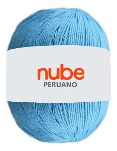 Hilado Nube Peruano X 5 Ovillos - 500 Grs. Por Color