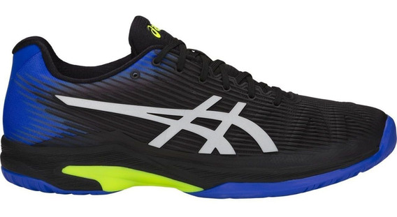 Tênis Asics Gel Solution Speed Ff Preto Azul