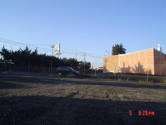Terreno Comercial O Edificio,sobre Carretera Toluca,cuajimal