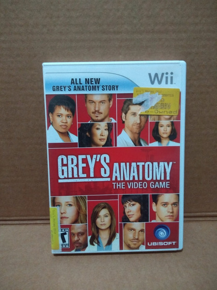 Grey´s Anatomy The Video Game - Nintendo Wii - Completo