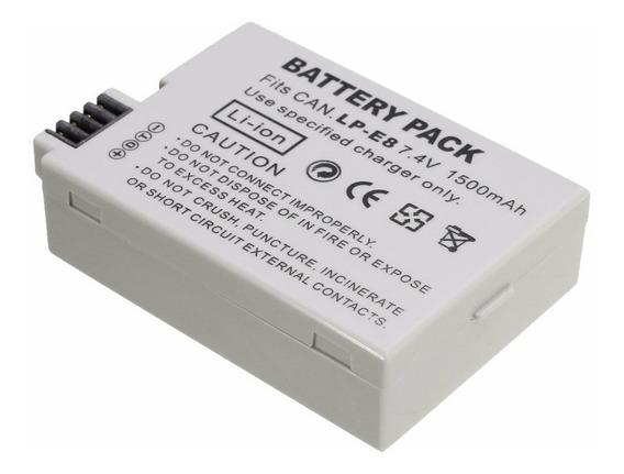 Bateria Lp-e8 Lpe8 Para Canon T2i T3i T4i T5i 550d 600d