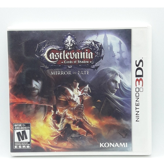 Castlevania Lords Of Shadow Mirror Of Fate Nintendo 3ds Game