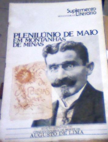 Suplemento Literário -minas Gerais -augusto De Lima