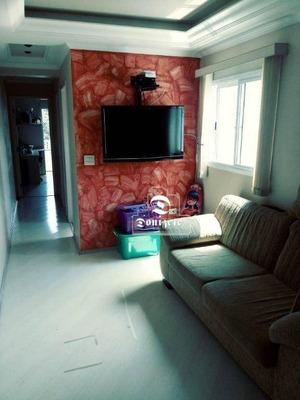 Apartamento Com 2 Dormitórios À Venda, 69 M² Por R$ 405.000 - Vila Pires - Santo André/sp - Co10814