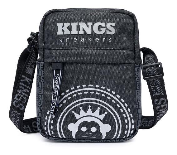 Shoulder Bag Bolsa Transversal Kings Sneakers Moda Masculina
