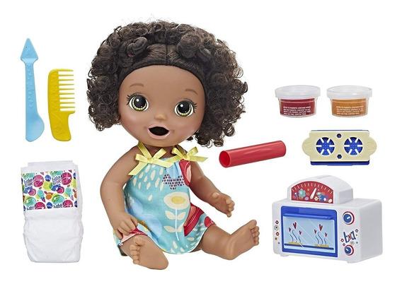 Boneca Baby Alive - Meu Primeiro Forninho - Negra - Hasbro