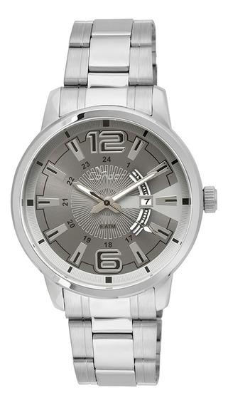 Relógio Condor Masculino Prata Com Carteira - Co2115yf/ks3c