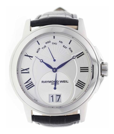 Relógio Masculino Suíço Raymond Weil Aço Original Promoção