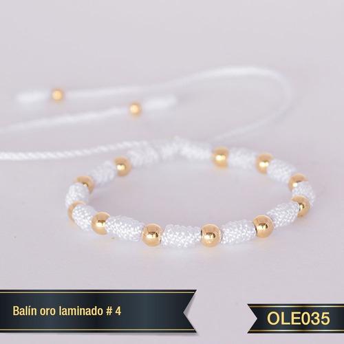 Pulsera Oro Laminado 18k Ole035