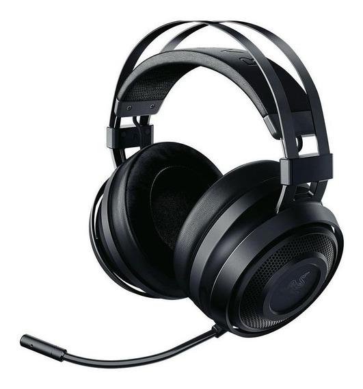 Fone de ouvido gamer sem fio Razer Nari Essential black