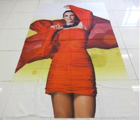 Pano Gigante Ivete Sangalo 1,5m X 2,4m - Toalha Poster